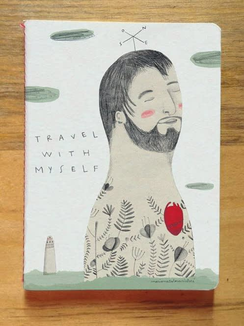 Mariona Tolosa Sisteré - Travel with myself (libreta)