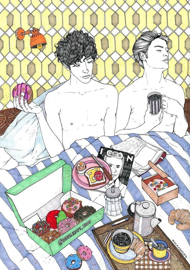 Ana Jarén - Breakfast at bed